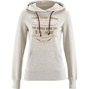 John Baner JEANSWEAR Sweatshirt, Langarm in natur für Damen von bonprix