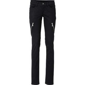 RAINBOW Stretch-Hose in schwarz für Damen von bonprix