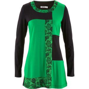 bpc bonprix collection Longshirt langarm figurbetont in grün (Rundhals) für Damen von bonprix