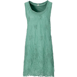 RAINBOW Kleid ohne Ärmel in grau (Rundhals) von bonprix