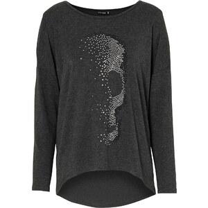 BODYFLIRT Shirt in grau für Damen von bonprix