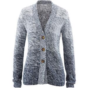 bpc bonprix collection Strick-Jacke, Langarm in blau für Damen von bonprix