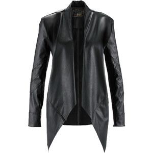 bpc selection premium Premium Lederimitat-Jacke in schwarz für Damen von bonprix