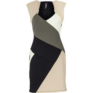 Kleid/Sommerkleid ohne Ärmel in grün von bonprix