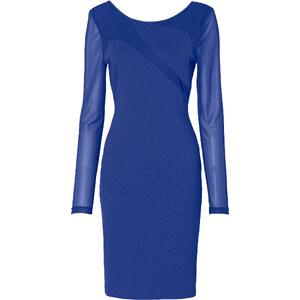 Kleid langarm in blau von bonprix