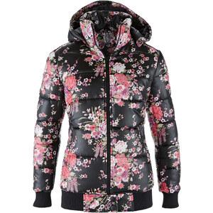 RAINBOW Jacke langarm figurbetont in schwarz für Damen von bonprix