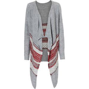 RAINBOW Strickjacke in grau für Damen von bonprix