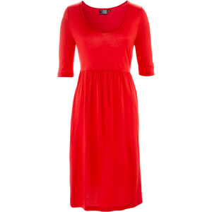 bpc bonprix collection Shirtkleid halber Arm in rot von bonprix