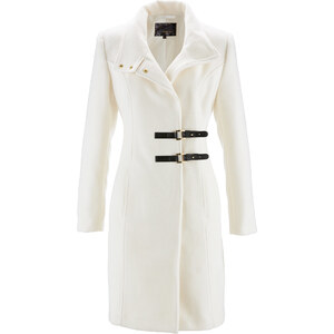 bpc selection Kurzmantel langarm figurumspielend in weiß für Damen von bonprix