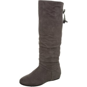 Anna Field Keilstiefel dark grey