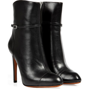 Marc by Marc Jacobs Leather High Heel Ankle Boots