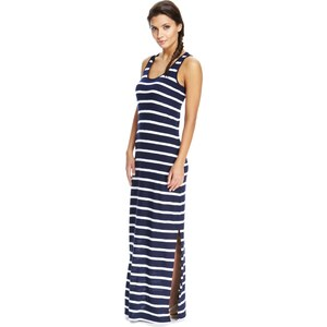Marks and Spencer Gestreiftes Racerback-Maxikleid