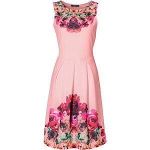 BODYFLIRT boutique Kleid ohne Ärmel in pink von bonprix