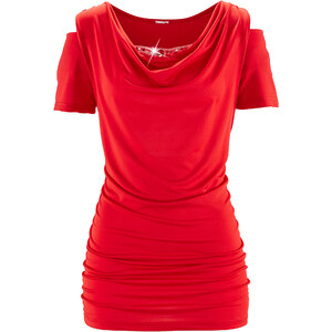 bpc selection Shirt, Kurzarm in rot für Damen von bonprix
