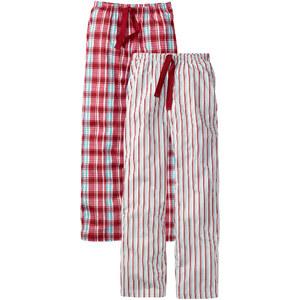 bpc bonprix collection Jerseyhose (2er-Pack) in rot für Damen von bonprix