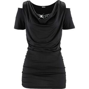 bpc selection Shirt, Kurzarm in schwarz für Damen von bonprix