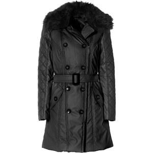 RAINBOW Mantel langarm figurbetont in schwarz für Damen von bonprix