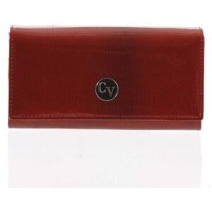 0748322247 Dámska elegantná kožená peňaženka červená - Cavaldi H271 červená - Glami.sk