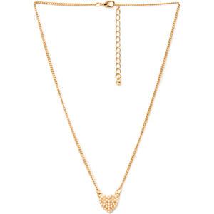 FOREVER21 Halskette mit Herzanhänger