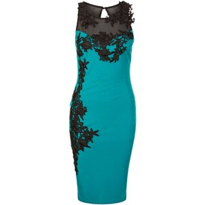 Lipsy Cocktailkleid / festliches Kleid teal