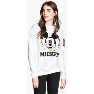 H&M Sweatshirt mit Druck