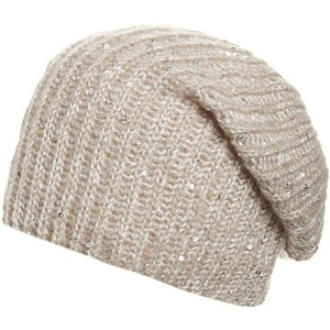 Anna Field Mütze beige
