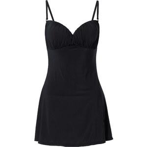 bpc selection Badeanzugkleid, Cup C in schwarz für Damen von bonprix