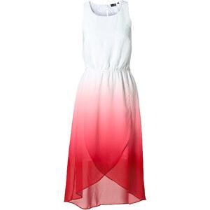 BODYFLIRT Kleid ohne Ärmel figurumspielend in weiß (Rundhals) von bonprix