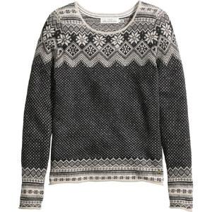 H&M Pullover mit Jacquardmuster
