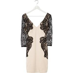 Lipsy Cocktailkleid / festliches Kleid neutral/black
