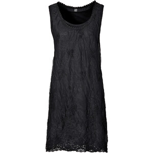 RAINBOW Kleid ohne Ärmel in schwarz (Rundhals) von bonprix