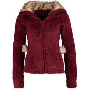 Fresh Made Fleecejacke ruby wine