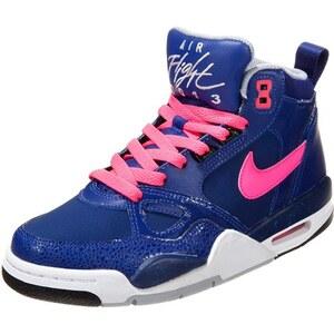 Nike Sportswear FLIGHT 13 Sneaker high deep royal blue/hyper pink