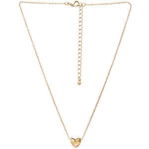 FOREVER21 Halskette mit beweglichem Herzanhänger