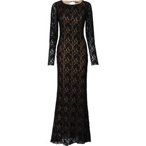BODYFLIRT boutique Langes Spitzenkleid langarm in schwarz von bonprix