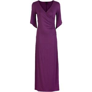 Kleid langarm in lila von bonprix