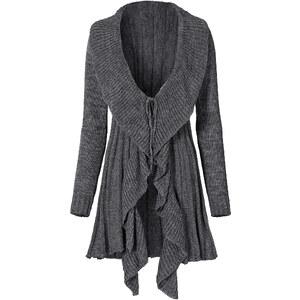 RAINBOW Strickjacke in schwarz für Damen von bonprix