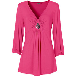 BODYFLIRT 3/4-Arm-Shirt in pink für Damen von bonprix