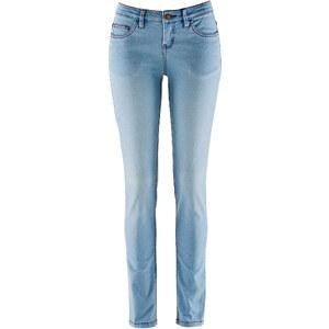 John Baner JEANSWEAR Stretch-Jeans SKINNY, Kurz in blau für Damen von bonprix