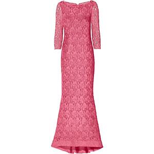Kleid 3/4 Arm in rot von bonprix