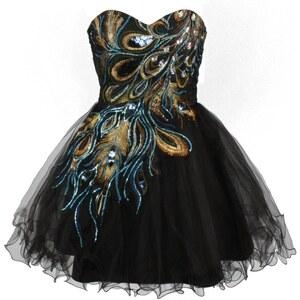 Four Flavor Cocktailkleid / festliches Kleid schwarz