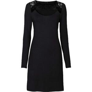 BODYFLIRT Shirtkleid in schwarz von bonprix