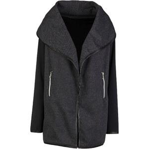 RAINBOW Jacke langarm in schwarz (V-Ausschnitt) für Damen von bonprix
