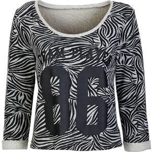 RAINBOW Boxy-Sweatshirt in grau für Damen von bonprix