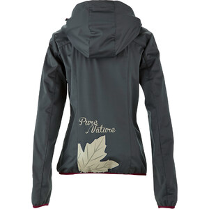 bpc bonprix collection Softshell-Outdoorjacke mit Kapuze langarm in grau von bonprix