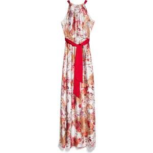 MANGO Langes Neckholder-Kleid