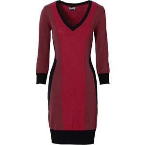 BODYFLIRT boutique Kleid langarm in rot von bonprix