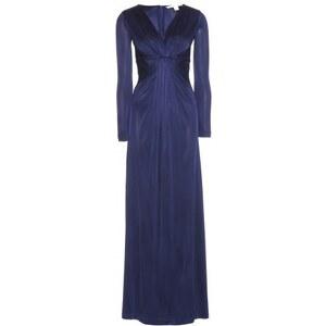 Diane von Furstenberg Floor-length Stretch Jersey Dress