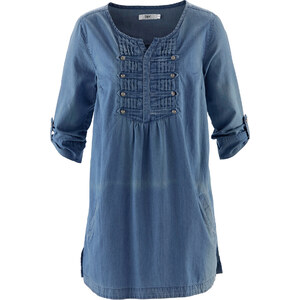 bpc bonprix collection Bluse, Halbarm in blau von bonprix