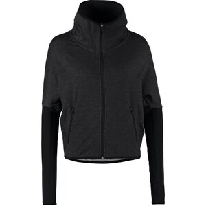Nike Performance FEARLESS Sweatjacke black heather/black
